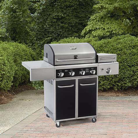 kenmore 4 burner stainless steel compare kenmore 6 burner stainless steel front gas grill
