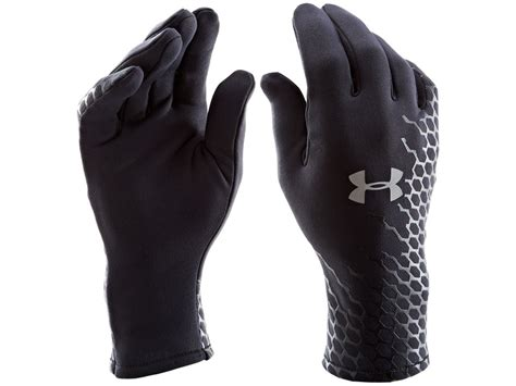 under armoir gloves under armour ua armour stretch gloves synthetic blend black xl
