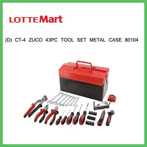 Kunci L 1 buy 0410813440007 d ct 4 zuco 43pc tool set metal 80104 8 kunci l 1 tang jepit 1 kunci