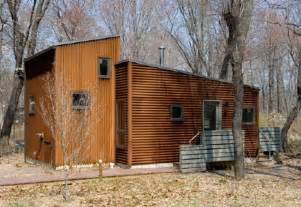 metal siding fix cabins at tryon farm apartment therapy