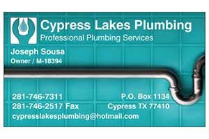 Plumbing School Houston by Cypress Lakes Plumbing The Connection School Of Houston
