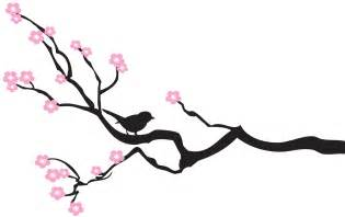 simple bird on branch outline 24956 homeup