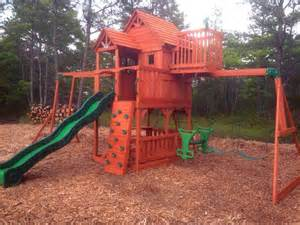 Backyard Discovery Sky Fort 2 Playset Assembler And Swing Set Installer In Plymouth Ma