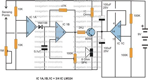 how to build a sensor circuit
