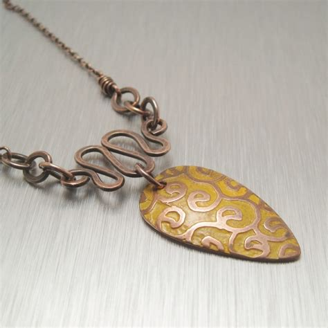 Handmade Jewelry Classes - gallery copperheart designs
