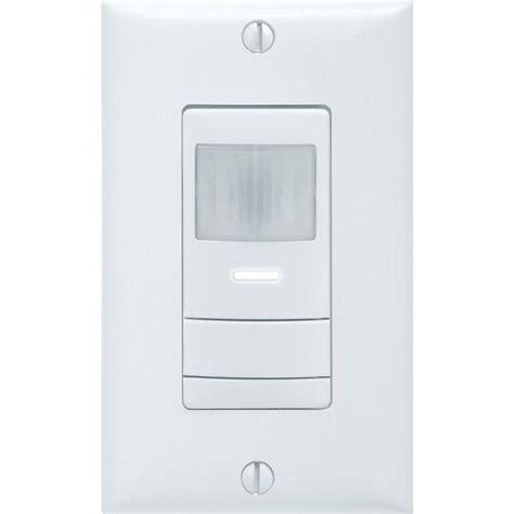 occupancy sensor light switch adjustment lithonia lighting 360 degree motion detection pir low