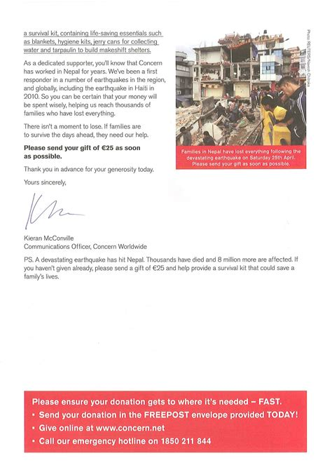 Nepal Fundraising Letter Caign Gallery Concern Emergency Appeal Letter For Nepal Earthquake Fund Charity
