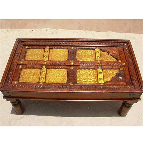 Antique Door Coffee Table Antique Door Indian Rosewood Occasional Sofa Cocktail Coffee Table Furniture New Ebay