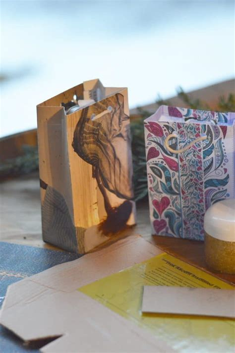 How To Make Beautiful Paper Bags - how to make a gift bag from beautiful recycled papers
