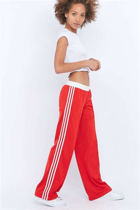 sandra  red tracksuit bottoms endource