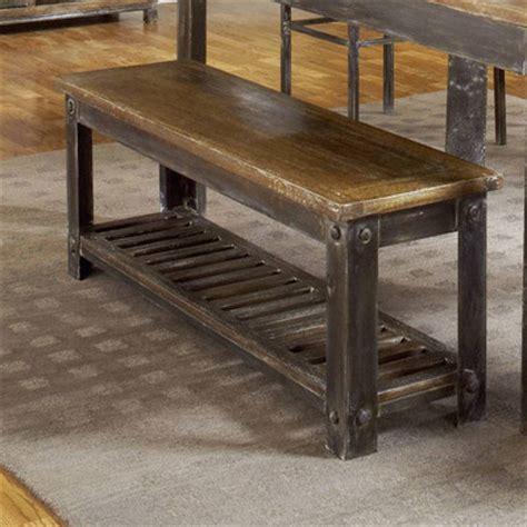 modus farmhouse wood kitchen bench reviews wayfair