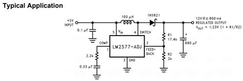 switch mode power supply schematic  common buckboost