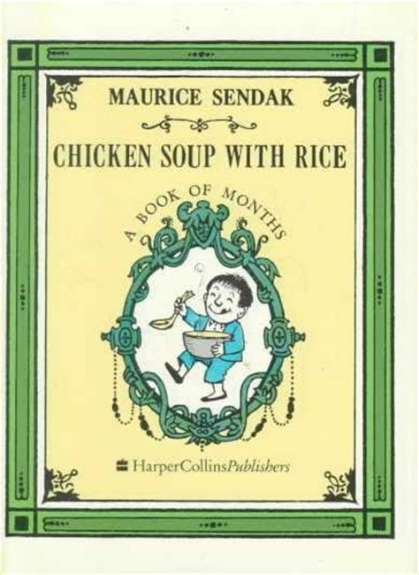 libro chicken soup with rice the quibley corner chicken soup with rice