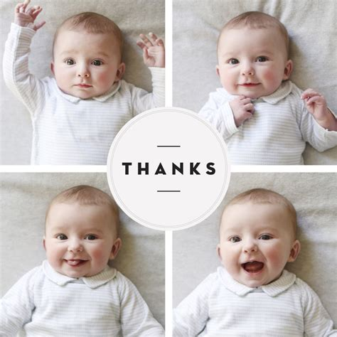 Thank You Cards From Baby