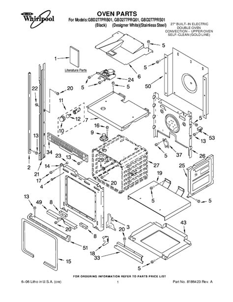 whirlpool microwave parts diagram whirlpool microwave oven gbd277pr user s guide