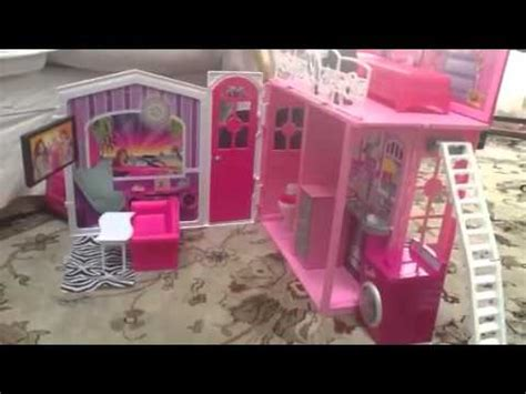 barbie doll house tour videos sydney doing her barbie doll house tour youtube
