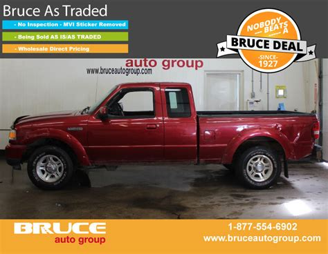 tire pressure monitoring 2008 ford ranger auto manual used 2008 ford ranger sport 3 0l 6 cyl automatic rwd supercab in middleton 0