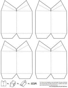 small tent card template free flluer de lis paper tent template also templates for fabric and knitted