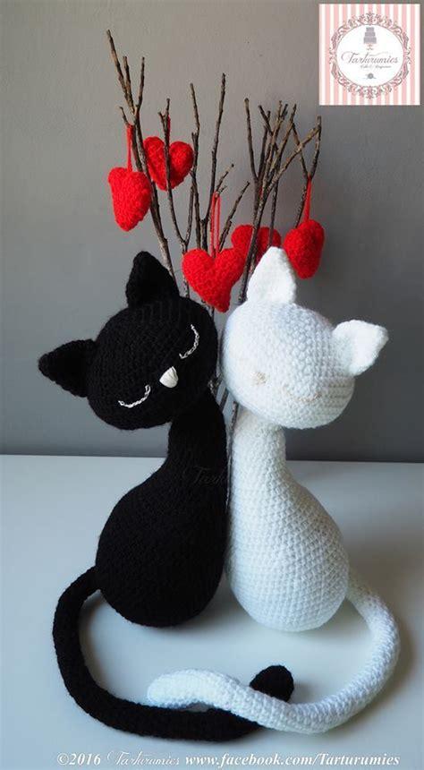 pattern fitting en español pareja de gatos amigurumi para el d 237 a de los enamorados