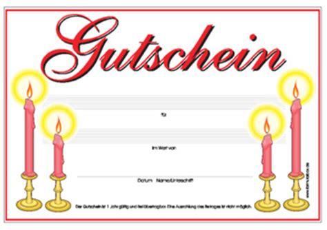Vorlage Word Reisegutschein Gutschein Kerzen Vorlage Muster Zum Herunterladen