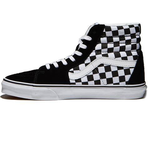 Vans Sk8 Hi 10 vans sk8 hi checkerboard shoes