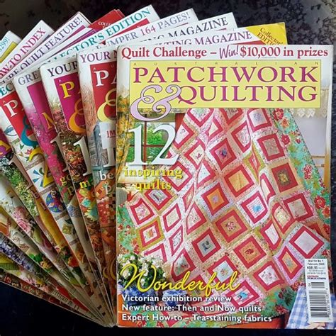 Australian Patchwork And Quilting Magazine - magazines australian patchwork quilting including