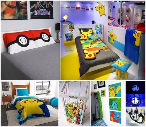 pokemon bedroom decor bedroom idea pokemon home decor ideas