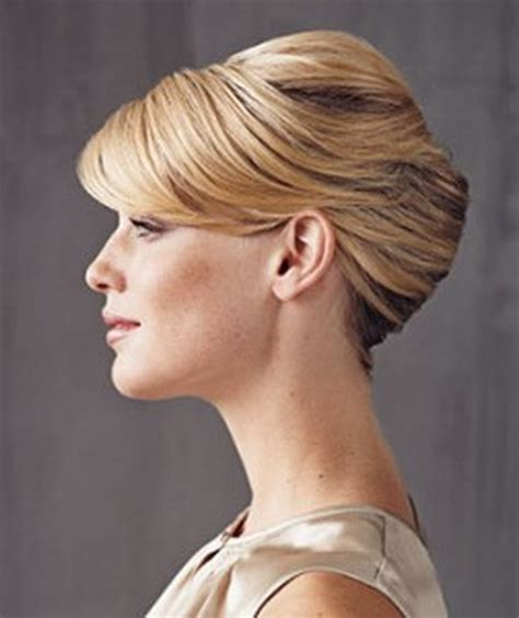 french roll for short hair search results hairstyle chignon banane cheveux courts