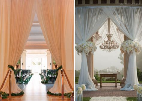 Wedding Decoration Curtains Fabulous Drapery Ideas For Weddings The Magazine