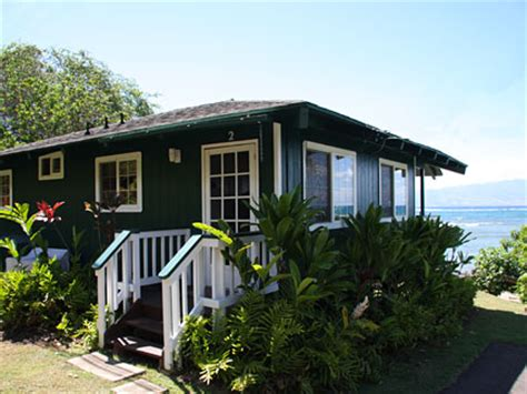 cottage hawaii vacation rental pauwalu beachfront cottage molokai hawaii