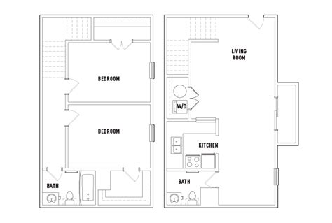 Unfurnished Apartments Athens Ga Floor Plans River Mill Student Housing Athens Ga