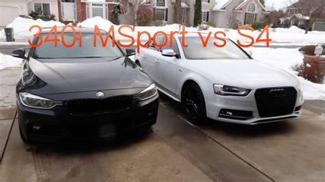 340i Vs S4 by Bmw 340i M Sport Xdrive Vs Audi S4