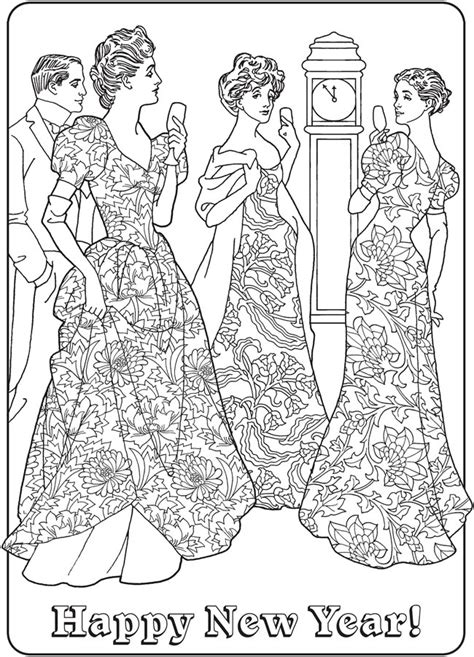 Old Fashioned 2 Fashioned Coloring Pages