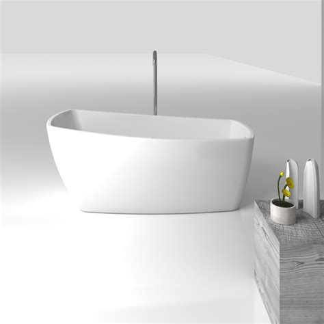 Freestanding Bathtubs Canada by Casablanca Freestanding Acrylic 63 Quot Tub Bathtubs