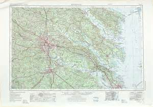 usgs topo maps richmond topographic maps va md usgs topo 37076a1