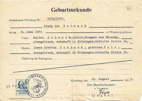 Search German Birth Records German Birth Certificate Template 28 Images Birth Certificate Template Free Free