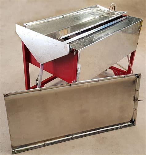 gravity table separator for enhanced gravity separator
