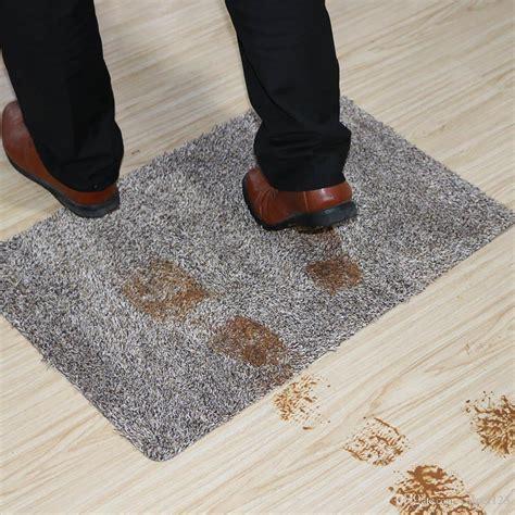 Murah Keset Magic Clean Step Mat Brown keep mud and water front door design shoes cleaning absorbent door mat foot cleaning like