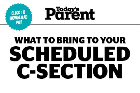 What To Expect Scheduled C Section by What To Pack For A Scheduled C Section Today S Parent