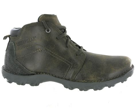 mens rugged leather boots mens cat caterpillar transform rugged leather lace up ankle boots size 6 15 uk ebay