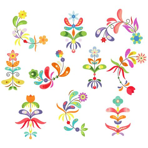 Flower Pattern Clipart   flower pattern clipart clipground