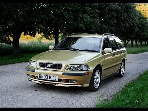 volvo estate v40 2003 volvo v40 estate wagon review starting