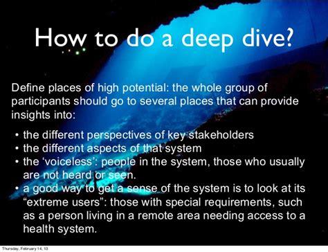 dive definition presentatie honours dive amstelcus