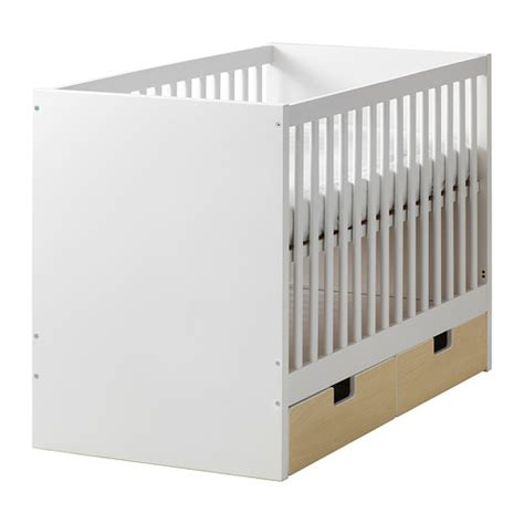 Cribs With Drawers Attached Stuva Crib With Drawers Ikea