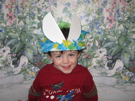How To Make A Paper Easter Bonnet - easter