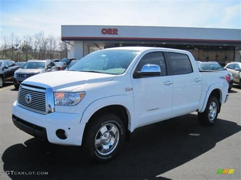 2011 toyota tundra limited 2011 white toyota tundra limited crewmax 4x4