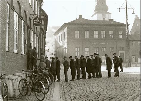 Copenhagen To Queue For Shortcut 4 by Amazing Photograhs Of In Denmark Through Wwii