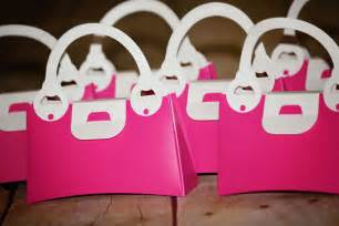 Purse Favors by 12 Pink Plastic Purse Favor Boxes Pink By