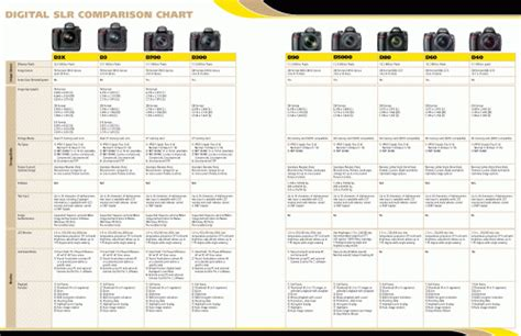 digital comparisons canon dslr comparison chart canon dslr comparisons and