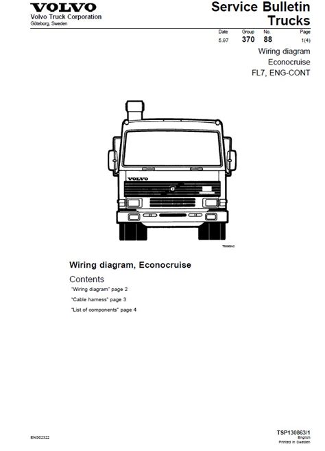 volvo truck wiring diagrams pdf 31 wiring diagram images